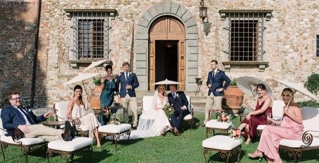 Tuscany Wedding in Chianti for Lauren and Craig