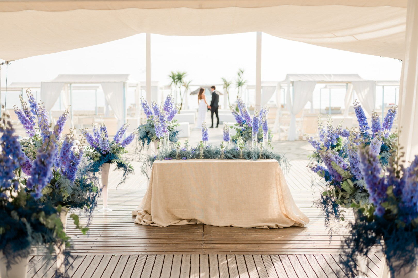Wedding on the Beach in Tuscany